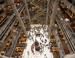 """Wide eyed at Lloyds of London"" by Ben Geach"
